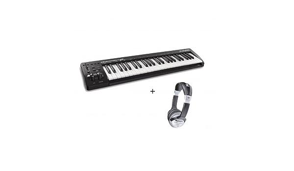 Pack M-Audio Keystation 49 III – Teclado Maestro Midi USB 49 ...