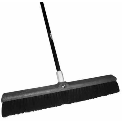 Quickie Bulldozer 24-Inch Tampico Push Broom