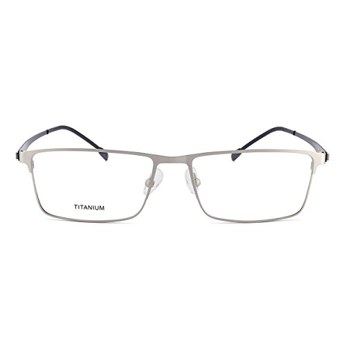 Titanium Plating Frame - CoCocina Titanium Alloy Glasses Frame Ip Vacuum Plating Process - Silver