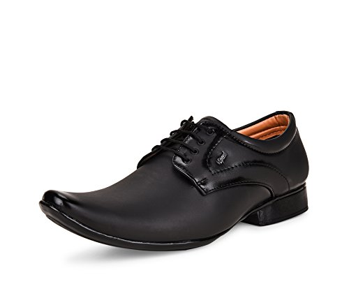 ESSENCE Men's Formal Synthetic Lace-Up Shoes