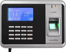 Lector de Huellas Dactilares de asistencia reloj de tiempo biométrico, Terminal, Lonestar ls-
