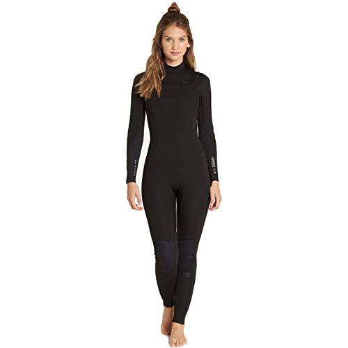 Billabong Women s 4 3 Furnace Synergy Chest Zip Fullsuit Black 4 a3e318c4d