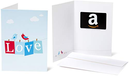Amazon.com Gift Card in a Greeting Card -  Love Design