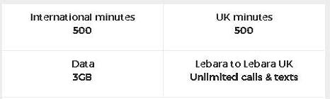 Tarjeta SIM de Lebara móvil Pay As You Go Trio standard-micro-nano ...