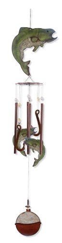 Sunset Vista Designs Catch of the Day Fish Wind Chime, 36-Inch Long Review