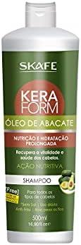 Shampoo Keraform Óleo de Abacate 500ml, SKAF0