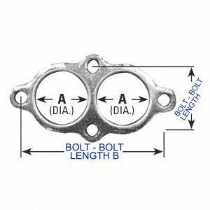 AP Exhaust Products 8401 Catalytic Converter Gasket