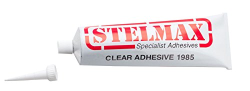 Stelmax Clear Adhesive 1985 PVC Resin & Solvent Based PVC Glue 135g Tube