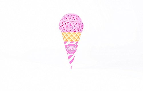 Rubber Band Ice Cream Ball (Pink)