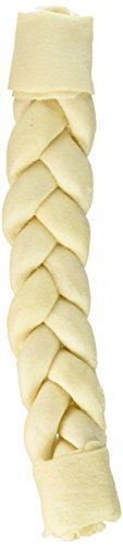 (3 Pack) Cadet Braided Stick for Dogs, 13 to 14 Inch Each ()