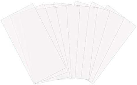 Amazon Com Komiwoo 10 Pack 6 Mil Blank Stencil Making Sheets 12 X 24 Inch Ideal Compatible Silhouette Machines Mylar Material Kitchen Dining