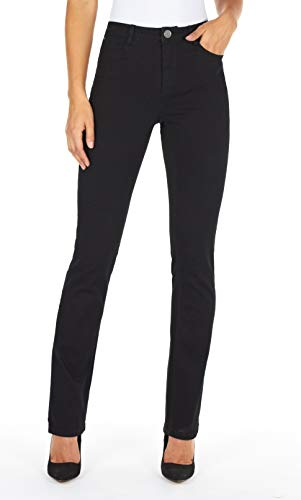 FDJ French Dressing Women's Olivia Slightly Curvy Fit Straight Leg Jeans - Petite