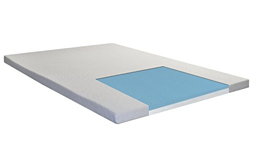 Cool Gel Memory Foam Topper for king Size Mattress