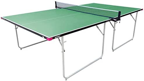 Butterfly Compact 16 Table Tennis Table with Net Set – Fully Assembled – 3 Year Warranty – Compact Storage