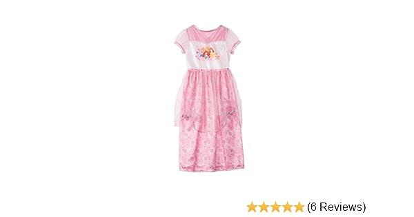 DISNEY PRINCESS DRESS SLEEVELESS SHIRT WITH PANTS SIZE SMALL 6 MSRP $30.00