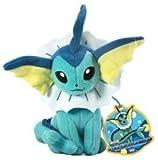 "Takaratomy Pokemon N-43 Vaporeon/Showers Best Wishes 9"" Plush Doll"