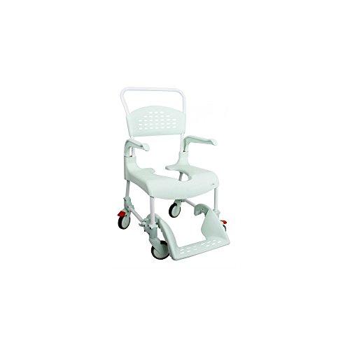 31NW6WDezlL. SS500 CLEAN es lo último en diseño de sillas para la higiene. Cómoda, segura y fácil de usar. Cada detalle de la Silla de ducha y w.c. ha estado pensado para que cualquier situación sea de lo más fácil para el usuario y para el cuidador. Esta silla es apta para la ducha.