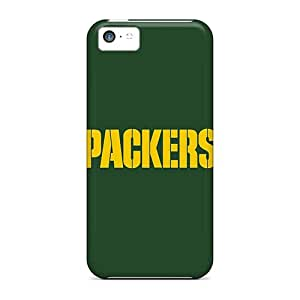 Flexible Tpu Back Cases Covers For Iphone 5c - Green Bay Packers 3 Black Friday