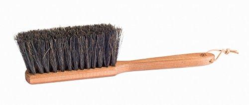 Bürstenhaus Redecker Arenga Fiber Hand Brush with Stained Beechwood Handle, 13-3/4-Inches