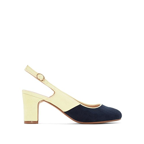 La Redoute Collections Frau Pumps mit Offener Ferse Marine