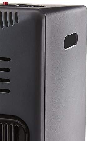 Pr/êt /à lemploi livr/é avec tuyau et d/étendeur Br/ûleur C/éramique Infrarouge Int/érieur Chauffage dappoint /à gaz Visby Favex Noir 3 Puissances de Chauffe -jusqu/à 40 m/²