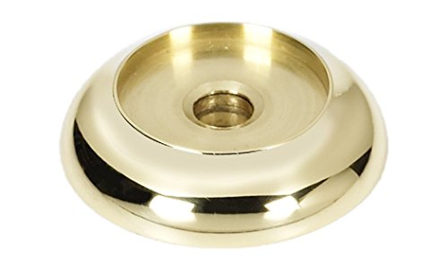 Alno A982-1-PB Royale Backplates Transitional, Polished Brass, 1