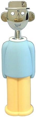 Alessi luz Azul Sandro sacacorchos de pa, diseño de Alessandro Mendini