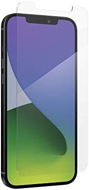 ZAGG InvisibleShield Glass+ Screen Protector – High-Definition Tempered Glass Made for iPhone 12 Pro Max – Imp