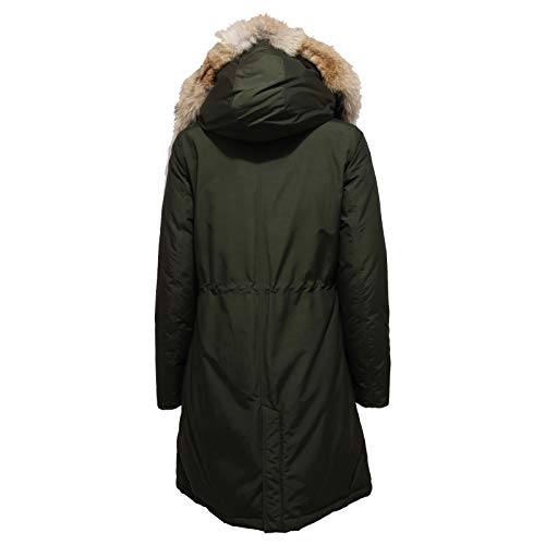 Woolrich Arctic Ladies Rosin Green Parka Long Hc rpqOrg