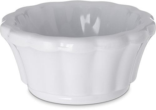 Trim Ramekin (Scalloped Ramekin, 1.6 oz., White, PK 48)