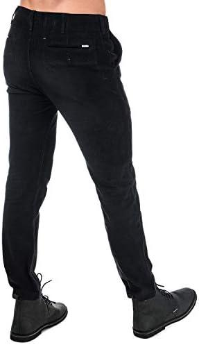 Levis Chino 502 True Cord Noir Homme