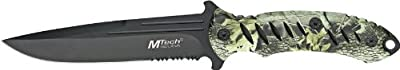 MTECH USA MT-231 Fixed Blade Knife 10.5-Inch Overall