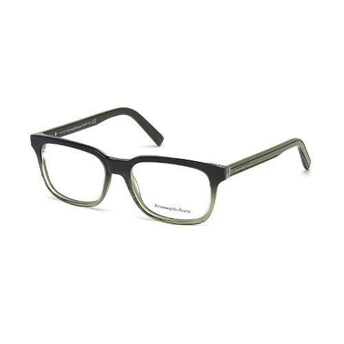 Zegna EZ5022-095 Optics Mens Eyeglasses Dark Olive Frames by Zegna