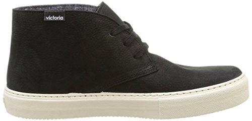 Victoria Adulte negro Mixte Boots Desert Noir 125050 xf1wOqZ