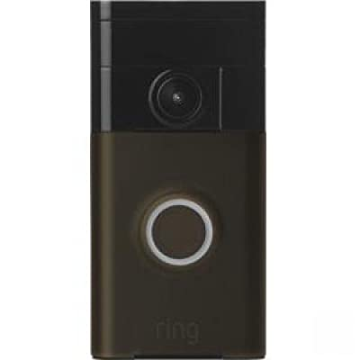 Ring/Bot Home Automation 88RG002FC100 HD Video Doorbell, Wi-Fi Enabled, Satin Nickel - Quantity 4