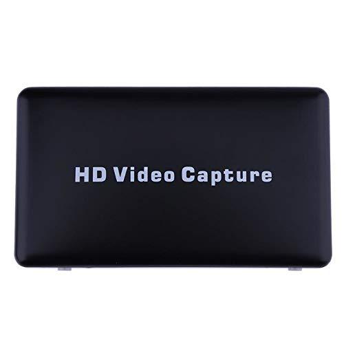 (SUPERELE HD Video Capture Card Box 1080P USB 2.0 Video Acquisition Grabber Board Device with Remote Control US Standard)