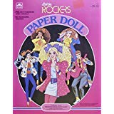 BARBIE & The ROCKERS PAPER DOLL BOOK (UNCUT) w 5 Card Stock DOLLS (Derek, Barbie, Dana, Dee Dee & Diva) & Pre-Cut FASHIONS (1986)