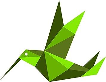 Amazon.com: Beautiful Artistic Japanese Paper Origami Hummingbird ...   275x355