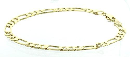 14kt Yellow Gold Mens Bracelet (8