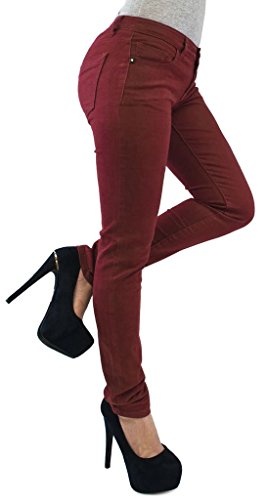 Jegging 22 Vanilla Jeans Wine New Inc Skinny Womens Ladies Z1qYw7