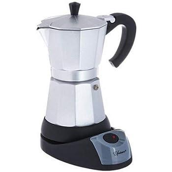 UNIWARE 89501-3 Coffee Maker, 3 Cups, Silver