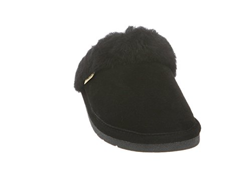 Rj's Black Slipper Small Womens Fuzzies Scuff rOxAwRrq