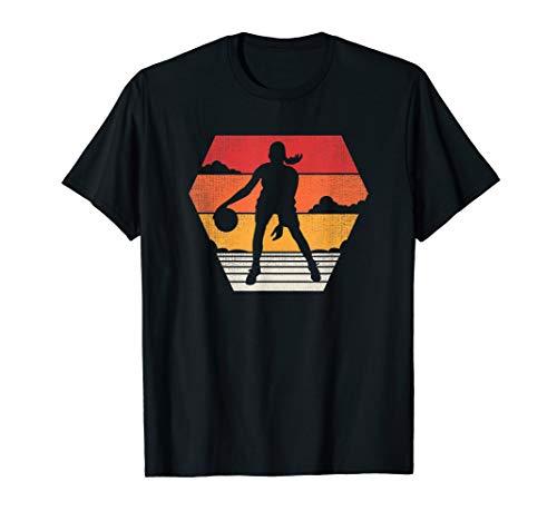 (Basketball T Shirt Retro Vintage 70s 80s Women Girls Gift)