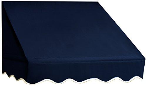 Aleko Window Awning Door Canopy Decorator, 6 feet x 2 feet, Blue ()