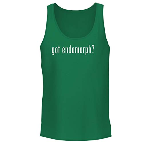 BH Cool Designs got Endomorph? - Men's Graphic Tank Top, Green, Medium