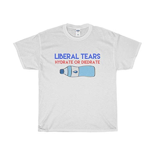Funny Conservative Novelty T-Shirt - Liberal Tears T-Shirt - Perfect for Republicans   Men & Women - Unisex (Best Conservative Talk Radio Stations)