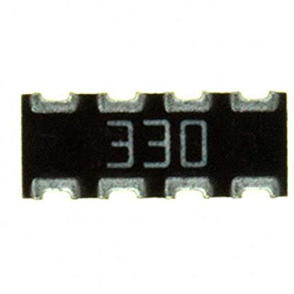 743C083330JP Pack of 100 RES ARRAY 4 RES 33 OHM 2008