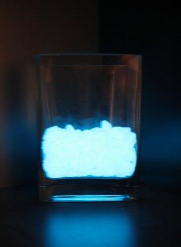 Coreglow (1KG) 6 12 mm ghiaia ghiaia ghiaia incandescente, luce cielo blu brillante 2ee84c