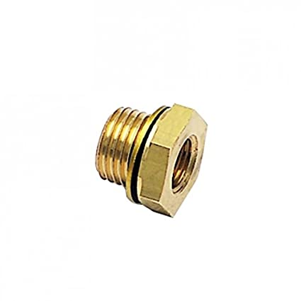 BSPP Reducer Male//Female Parker 0168 17 10-pk20 Adaptor G3//8 and G1//8 Brass Pack of 20
