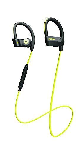 (Jabra Sport Pace Wireless Bluetooth Earbuds Yellow (Renewed))